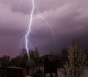 Residential Lightning Stock Images