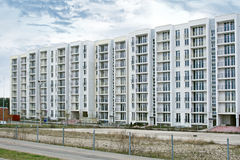 Residential, multi-storey building Royalty Free Stock Photo