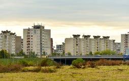 Residential multistory houses Stock Image