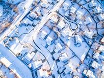 Residential neighborhood Stock Photo