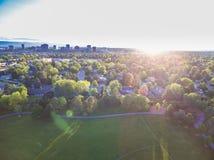 Residential neighborhood Stock Images