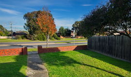 Residential neighborhood Stock Photo