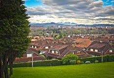 Residential neighborhood Stock Image