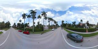Residential neighborhood 360 video