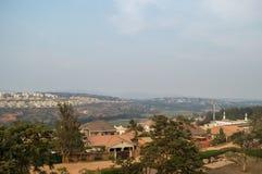 Residential Neighborhoods in Kigali, Rwanda. Residential Neighborhoods in Kigali in Rwanda Stock Image