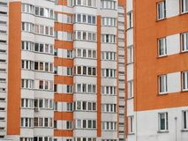 Residential new home. new building. multi-storey residential complex.  stock photos
