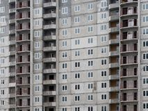 Residential new home. new building. multi-storey residential complex.  stock images