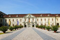 Residential palace in ludwigsburg Stock Photos