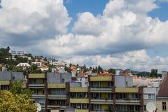 Residential part of Bratislava, Slovakia Stock Image