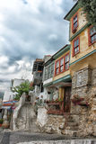 Residential part of Kavala city Royalty Free Stock Photos