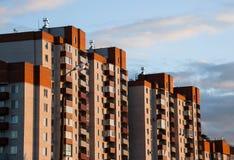 Residential quarter Royalty Free Stock Image