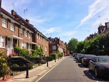 Residential quarter in London Stock Image