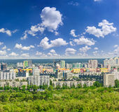 Residential quarters of the modern city Stock Image