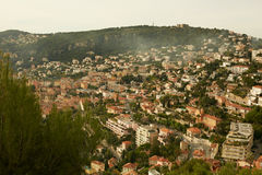 Residential quarters, Nice, France Stock Photo