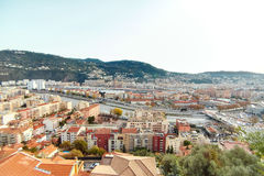 Residential quarters, Nice, France Royalty Free Stock Images