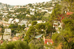 Residential quarters, Nice, France Stock Photos