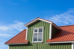 Residential Roof Top Stock Image