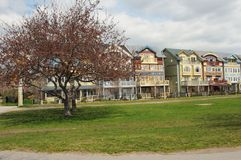 Residential Row Houses Royalty Free Stock Images