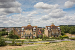 Residential semi-detatched town houses Stock Photography