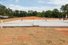 Residential Slab Royalty Free Stock Image