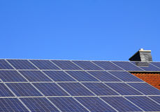 Residential Solar Power Stock Photography