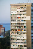 Residential. A soviet-style residential building Stock Images