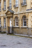 Residential Street in Bath Royalty Free Stock Image