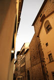 Residential Street in Florence Royalty Free Stock Image