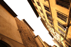 Residential Street in Florence Royalty Free Stock Images