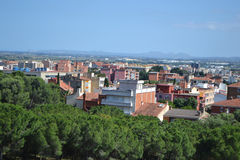 Residential suburb of Figueres Stock Images