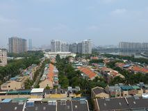 Residential villas in Guangzhou, China. Residential villas, residential landscape. In Guangzhou, China Stock Image