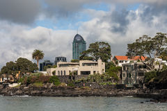 Residential villas in Takapuna Stock Images