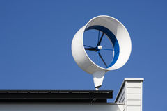 Residential wind turbine Stock Image