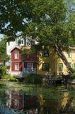 Residentual bringt Norrtalje Schweden unter stockbild