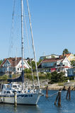 Residentual homes Langedrag Gothenburg Royalty Free Stock Image