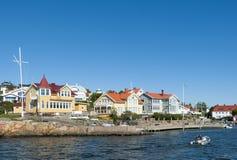 Residentual homes Langedrag Sweden Stock Photos