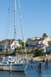 Residentual stwarza ognisko domowe Langedrag Gothenburg Obraz Royalty Free