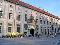 Residenz夏天节日在慕尼黑 库存图片
