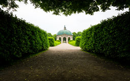 Residenz Hofgarten Monument Bushes Park Outdoor Munich Germany Royalty Free Stock Images