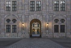 Residenz Munchen Royalty Free Stock Photo