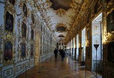Residenz nella residenza reale di Monaco di Baviera della famiglia di Wittelsbach Immagine Stock