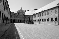 Residenz palace in Munchen Royalty Free Stock Images
