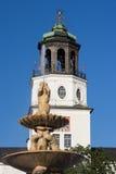 Residenz slott av Salzburg royaltyfri fotografi