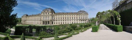 Residenz Wurzburg - παλάτι στο Wurzburg - μνημείο της ΟΥΝΕΣΚΟ - στη Βαυαρία Στοκ εικόνα με δικαίωμα ελεύθερης χρήσης