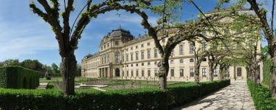 Residenz Wurzburg - παλάτι στο Wurzburg - μνημείο της ΟΥΝΕΣΚΟ - στη Βαυαρία Στοκ φωτογραφίες με δικαίωμα ελεύθερης χρήσης