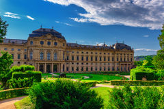 The Residenz of Wurzburg, Germany Royalty Free Stock Image