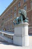Residenza dei re svedesi fotografia stock libera da diritti