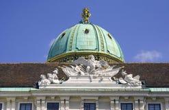 Residenza del capitale della biblioteca nazionale della vena di аustria Fotografie Stock Libere da Diritti