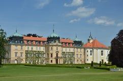 Residenza del paese del presidente ceco Fotografia Stock Libera da Diritti