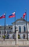 Residenza del presidente della Slovacchia a Bratislava Fotografie Stock